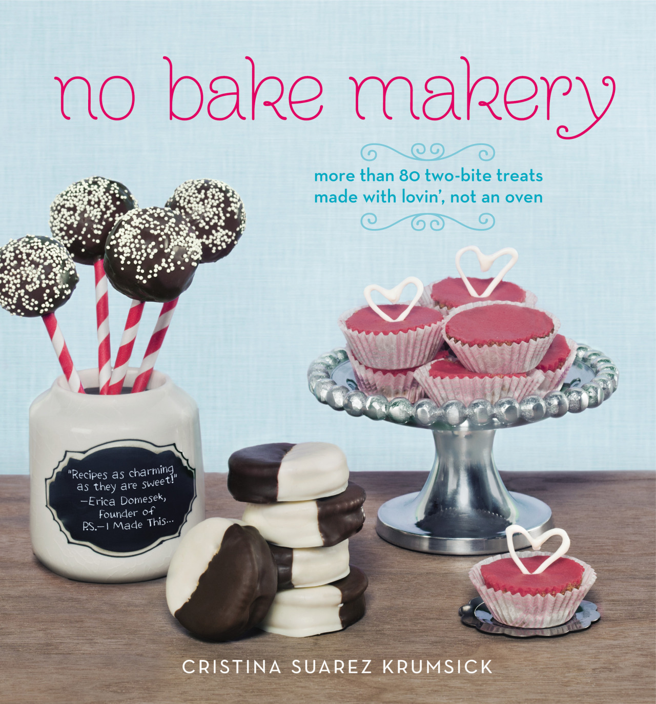 'No Bake Makery' GiveawayWe're giving away FIVE copies of NO BAKE MAKERY. An adorable cookbook full of treats that are made with lovin', not an oven. Enter for a chance to win.a Rafflecopter giveaway