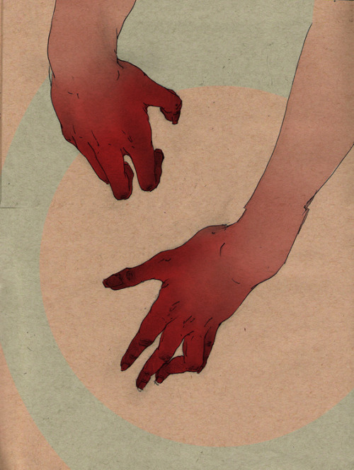 red-lipstick:  Vanessa Rivera aka Winterteeth - Sketch 096a, 2012    Drawings