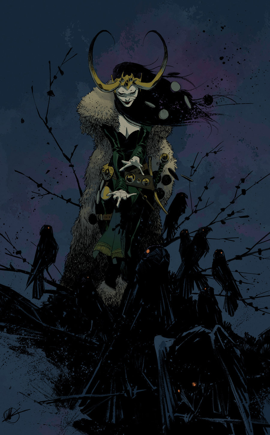 Matteo Scalera(DA)(Blog)(@)  Color: Mike Spicer(DA)(@)