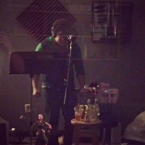 Darrell doing vocals