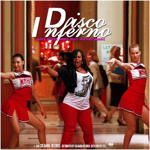 3x16 Saturday Night Glee-ver | Disco Inferno Requested Alternative Cover
