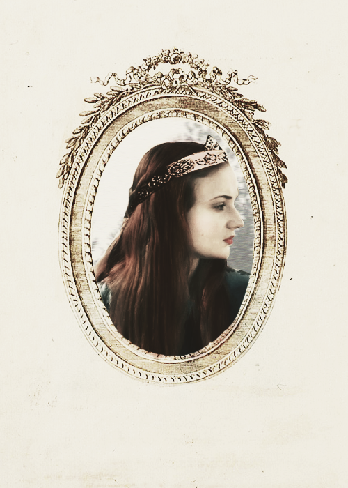 sansastarking:  lady little dove queen of the north