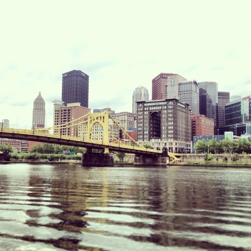 #pittsburgh #aapg #2013 #river #downtown (at City of Pittsburgh)