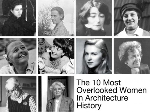 "Inspiring read on women architects who defied great odds (re: men) via ArchDaily. A sampling: Sophia Hayden Benett was the first woman to receive an architecture degree from MIT when she graduated in 1890 Marion Mahony Griffin, was not only one of the first licensed female architects in the world, but was the first employee of Frank Lloyd Wright Charlotte Perriand applied for a job at Le Corbusier's studio in 1927. Unimpressed, he dismissed her work with the comment: ""We don't embroider cushions here."" Jane Drew was an early proponent of Modernism in England and was responsible for bringing Le Corbusier's work to India."