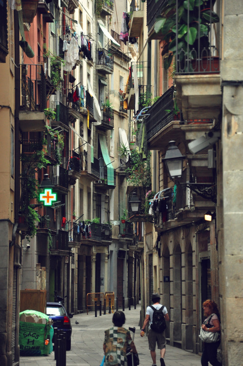 spainattractions:  The Gothic Quarter, Barcelona