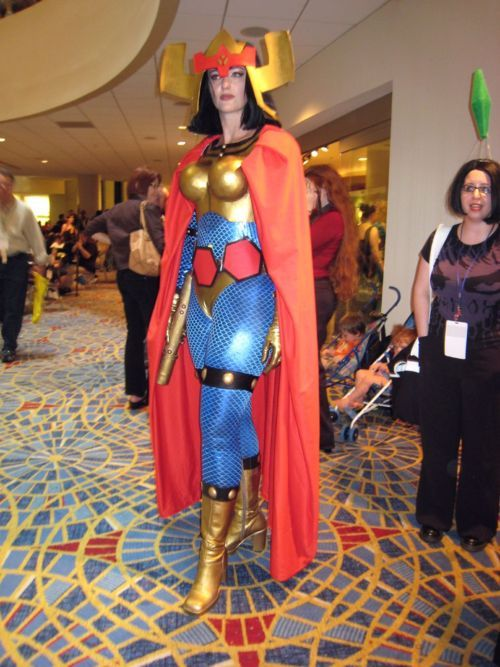 COSPLAY: Big Barda / DC comic's Justice League