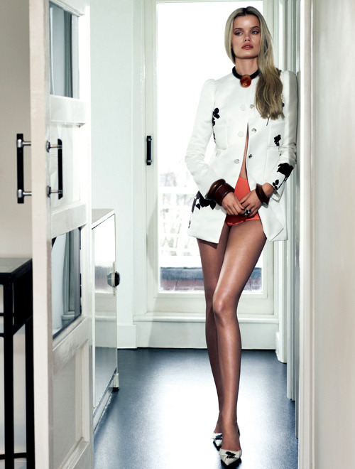 she-loves-fashion:  SHE LOVES FASHION: Frida Aasen by Jonas Bresnan for Numero Tokyo #64 March 2013
