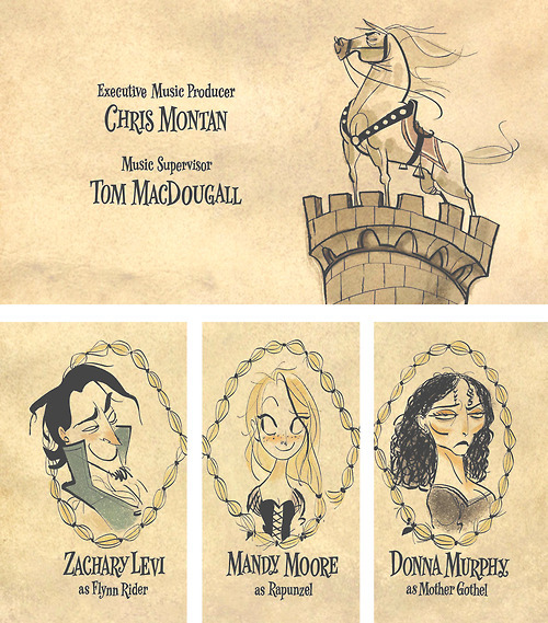 mydollyaviana:  Tangled end credits