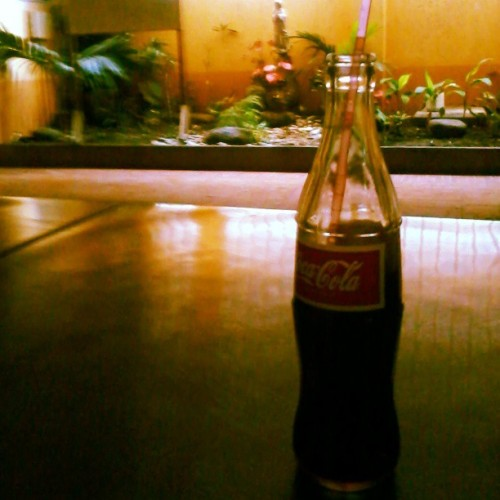 Coke is the only thing that's keeping me alive today. #5thbottle #RapplerAmb