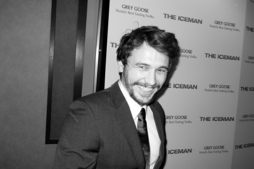 terrysdiary:  James Franco at the premiere of The Iceman.