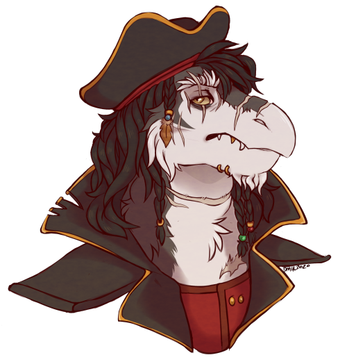 another sketchy headshot commission for @queenofthetides !! Thank you so much💖 #queenofthetides#skeksis#oc