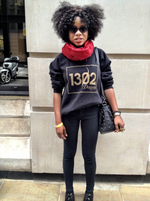 blackfashion:  Elizabeth Ajomale wearing 1302Designs Submitted by www.elizabethajomale.tumblr.com Captured by LanreAction.tumblr.com