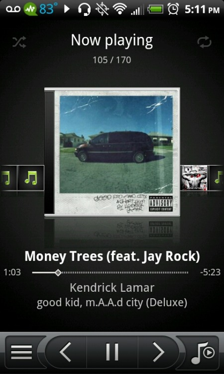 Kendrick Lamar x Money Trees ♥ – View on Path.
