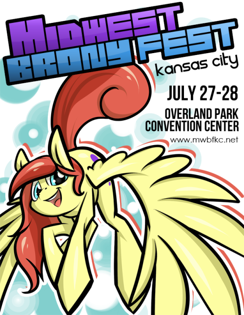 rawrcharlierawr:  also guess where I'll be spoiler, it's midwest brony fest also no i have no idea how to design a poster why would  you think that I had any idea i failed all my art classes  I'm no artist, but I think this is a pretty awesome poster.  (ImightjusthaveanartcrushonRCRbutshutup.)
