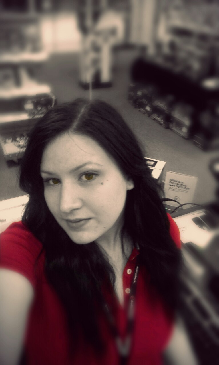 Bored at work #selfie