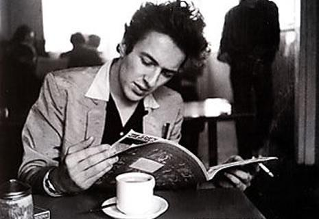 Joe Strummer Reading