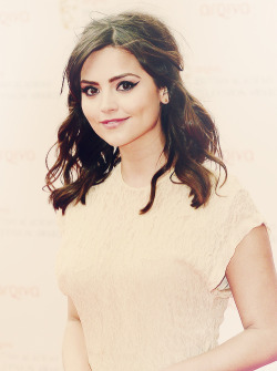 Jenna Louise Coleman at the BAFTAs