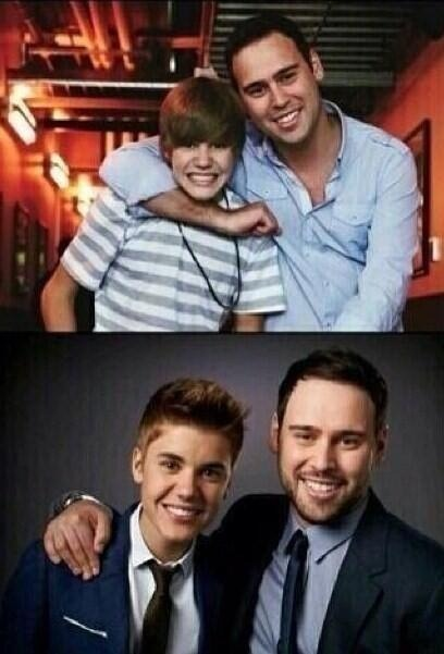@justinbieber @scooterbraun WOOW THE TIME FLY