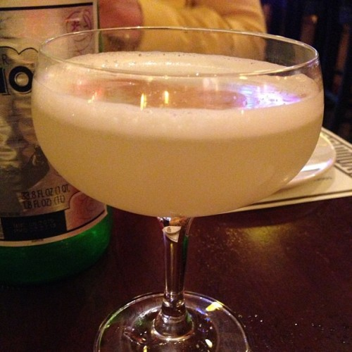 Pico Sour - agave, egg whites, bitters and Peru's Pisco Potion.