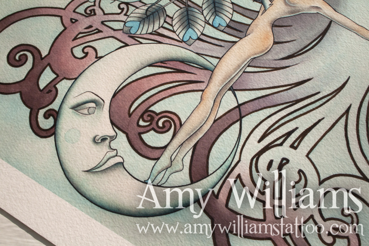 Limited edition signed and numbered print by Amy Williams