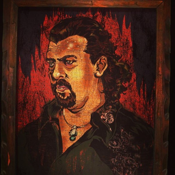Velvet Kenny Powers Painting by JTO