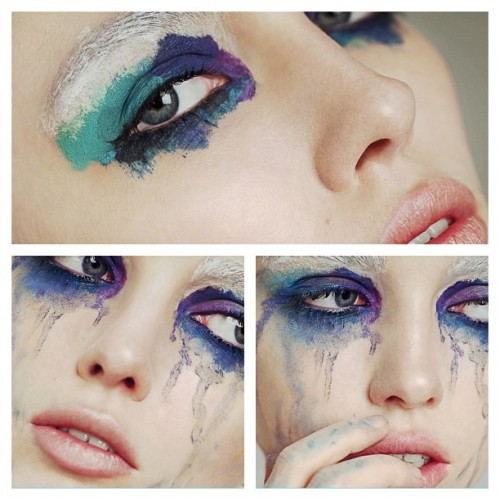 makeupbysarahill:  #colour #makeup #beauty #art @sarahillmakeup Instagram fun