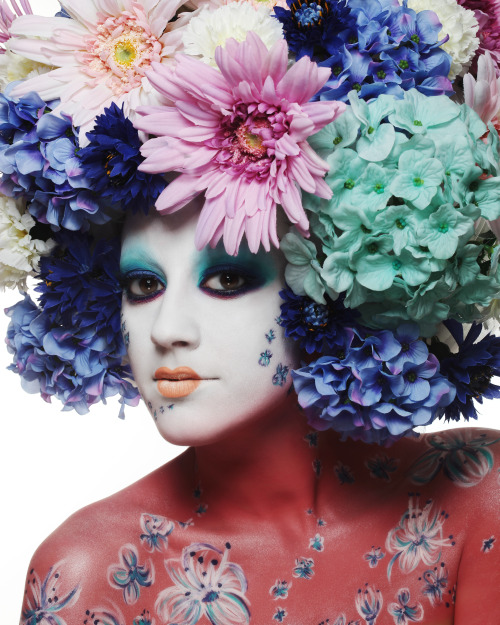 Flowers. - MAKE UP FOR EVER Academy Paris