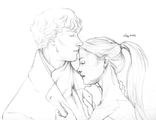 strawberrypatty:  SHERLOLLY WEEK DAY THREE: FAVOURITE FAN ART— THE FULL HOUSE COLLECTION BY ARTBYLEXIE (4/4) Lexie has so many gorgeous pieces of art… Seriously, too many to choose. But I have an emotional connection to these pictures. They were drawn for me, for my writing. They are the pictures that forged a friendship. Lex is one of the most talented, generous and sweetest girls I've ever met… Well, met over the internet. It won't be until next month that we take care of the meeting in real life thing!  I really do think that this long ago stopped being about the story. This is now about Clare and I being honest to God friends that wish nothing but each other's happiness.  I'm sorry for being sappy, but this is best thing that's come out of this fandom for me. I can't draw Sherlolly and NOT think about Clare. It's very nearly impossible. She almost ALWAYS gets first pass over everything I make, and has been the recipient of several of the original pieces.  You guys should thank her because she's the reason I draw so much for this pairing. This is not an exaggeration.  FEBRUARY WILL BE THE TIME OF EPIC INVASIONS OF PERSONAL SPACE.  (if you haven't been reading TFH on AO3, you probably haven't seen these before. And some of them haven't been put up yet.)