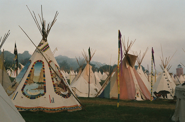 saucerful-of-secrets:  Teepee Fields by George Hayford-Taylor on Flickr.