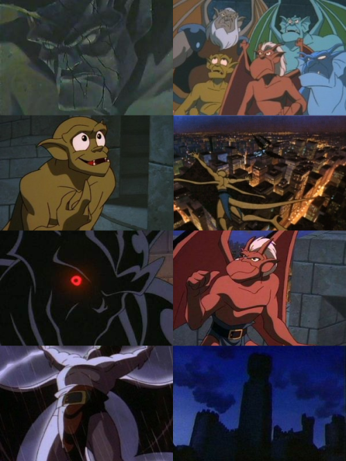 ganford-the-kight:  Favorite cartoons/animated shows: Gargoyles (1994-1997)