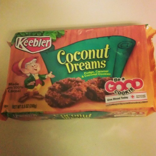 Keebler may be wrong for this & I apologize to the Girl Scouts, but…SAMOAS ALL YEAR LONG!!!!