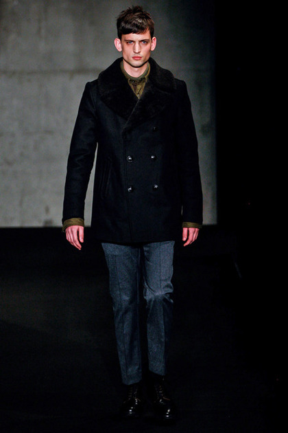 Brayden Pritchard walks for Rag & Bone F/W 2013 menswear collection