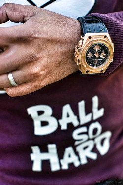 watchanish:  Linde Werdelin SpidoSpeed in 18k rose gold