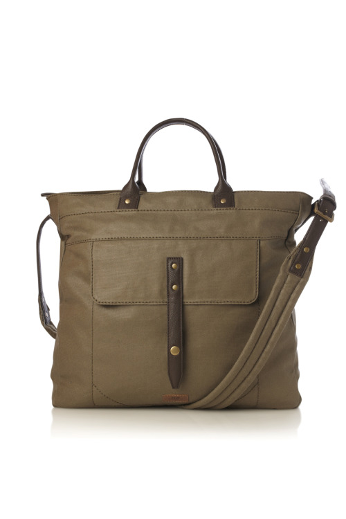 Super Stitch Canvas Tote by French Connection http://goo.gl/LBZGf