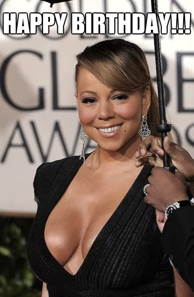 Happy 43rd Birthday to the one and only, Mariah Carey!!!