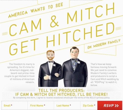 The ACLU started a campaign to get Cam and Mitch hitched on Modern Fam. Nice sentiment, but here are 3 reasons why it's misguided.