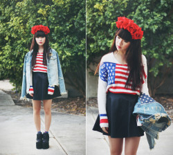 lookbookdotnu:  Americano (by Willabelle Ong)