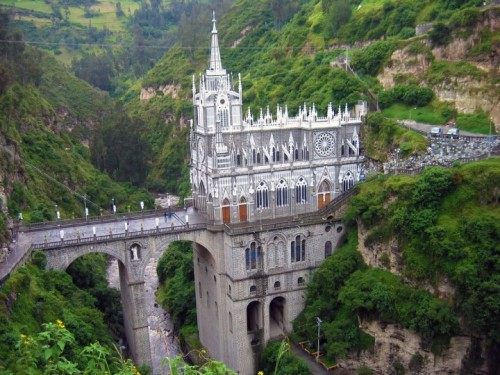 landscapelifescape:  Las Lajas Sanctuary, Columbia The Best Travel Destinations