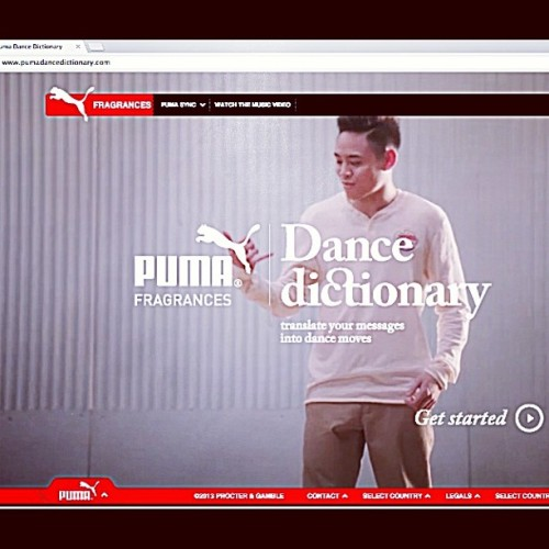 Jalapen diz website: www.PumaDanceDictionary.com #pumadancedictionary #Puma #dancemodeling #freestyle #Blessed (at PumaDanceDictionary.com)