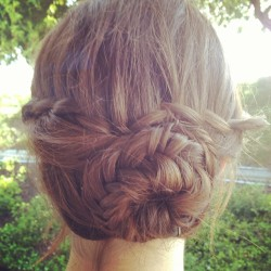 thehealthyk:  Hair of the day :)