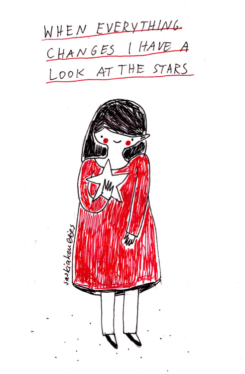 Today: stay a mood drawing by Saskia Keultjes   shop facebook