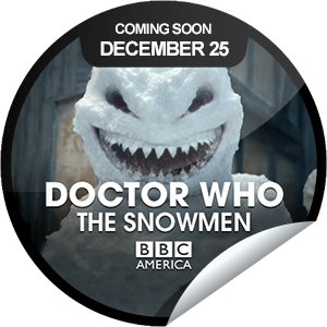 New Doctor Who: The Snowmen sticker on GetGlue zotwot:  I unlocked the Doctor Who: The Snowmen- The Snowmen sticker on GetGlue.