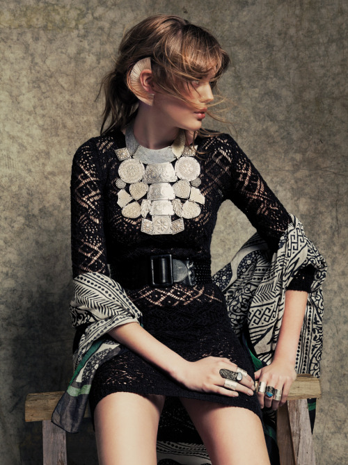 pedalfar:  gaucho style: femke oosterkamp by oskar cecere for glamour italia may 2013
