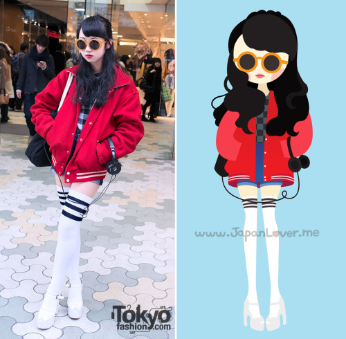 Kawaii Japan Lover Me Real-person anime. #harajuku