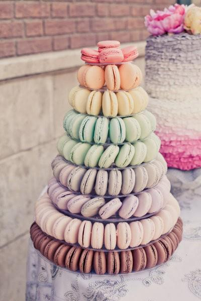 gayleforman:  Is this enough macarons? fashionablephoto:  macarones