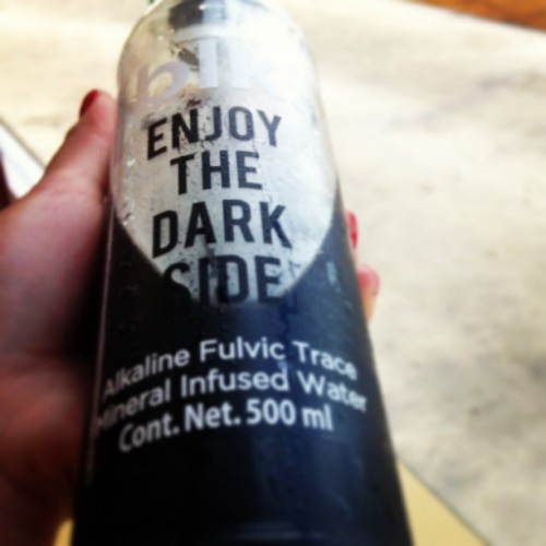 #blk #water #enjoythedarkside @pink_rt
