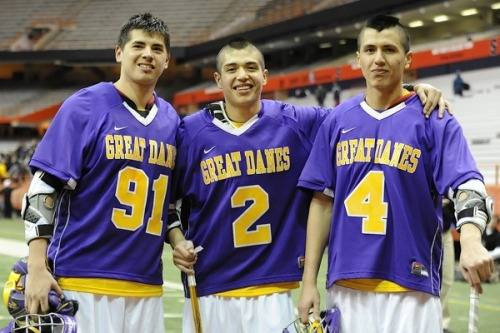 lacrossenation:  The Thompson fam
