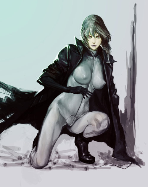 splosive-art:  GHOST IN THE SHELL by ~masateru