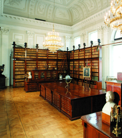 bookmania:  The special collections part the Polish national library, in the Palace of the Commonwealth.