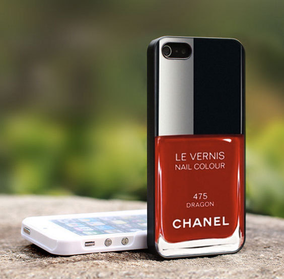 maxitendance:  Dragon Chanel Nail Polish iPhone Case